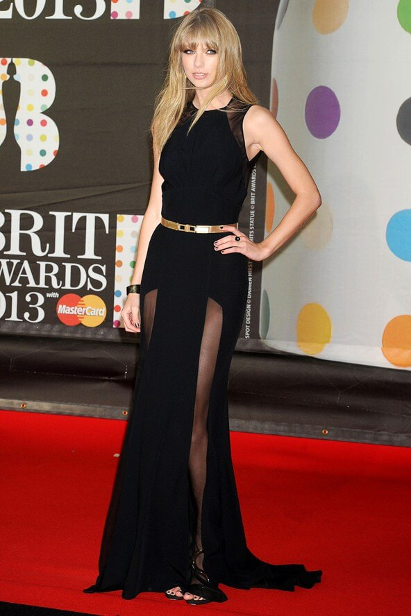 Elie Saab Dress Taylor Swift For The Brits - 10 Magazine10 Magazine