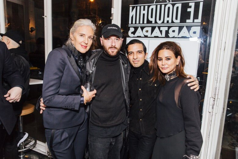 Ruth Chapman (MATCHESFASHION.COM), Demna Gvsalia, Imran Amed (BoF) and C...