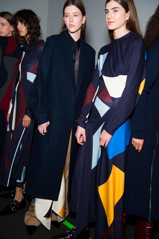 Victoria Beckham Wearing Wedges