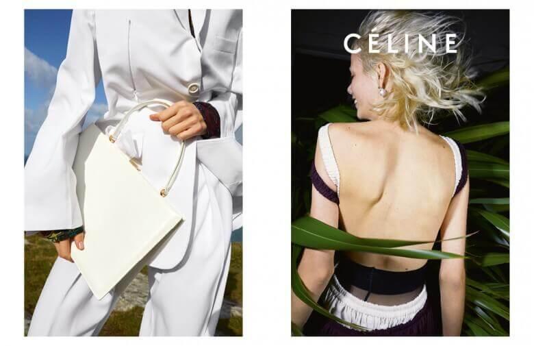 Céline - Summer 17 - Crédit Juergen Teller - Model Right Marjan Jonkman