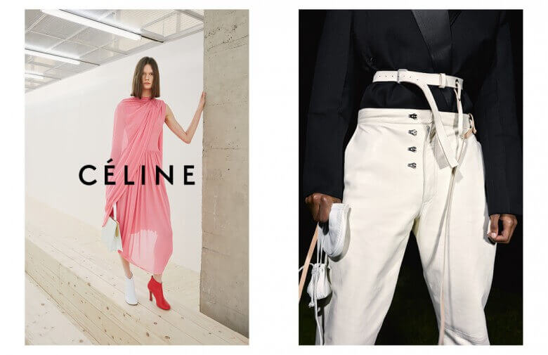 Celine - Summer 17 - Credit Left Zoë Ghertner - Model Daniela Kocianova - Credit Right Juergen Teller