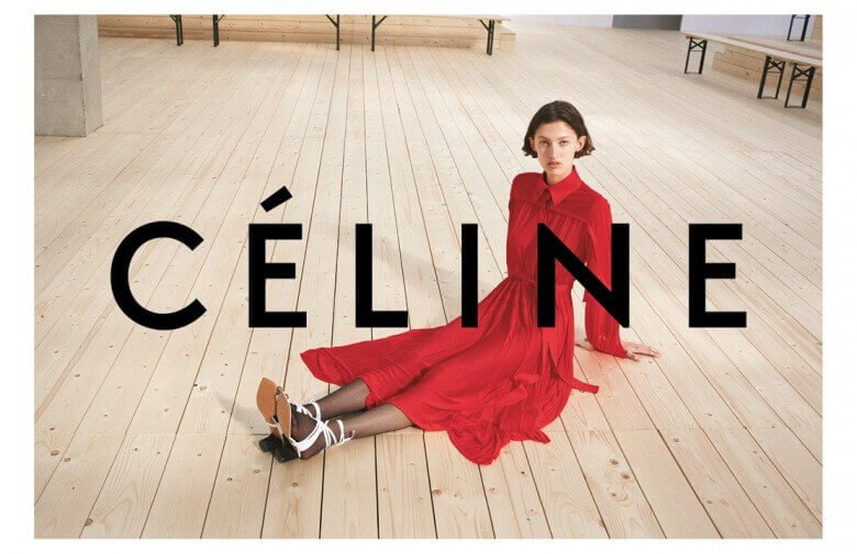 Celine - Summer 17 - Credit Zoë Ghertner 2 - Model Amber Witcomb