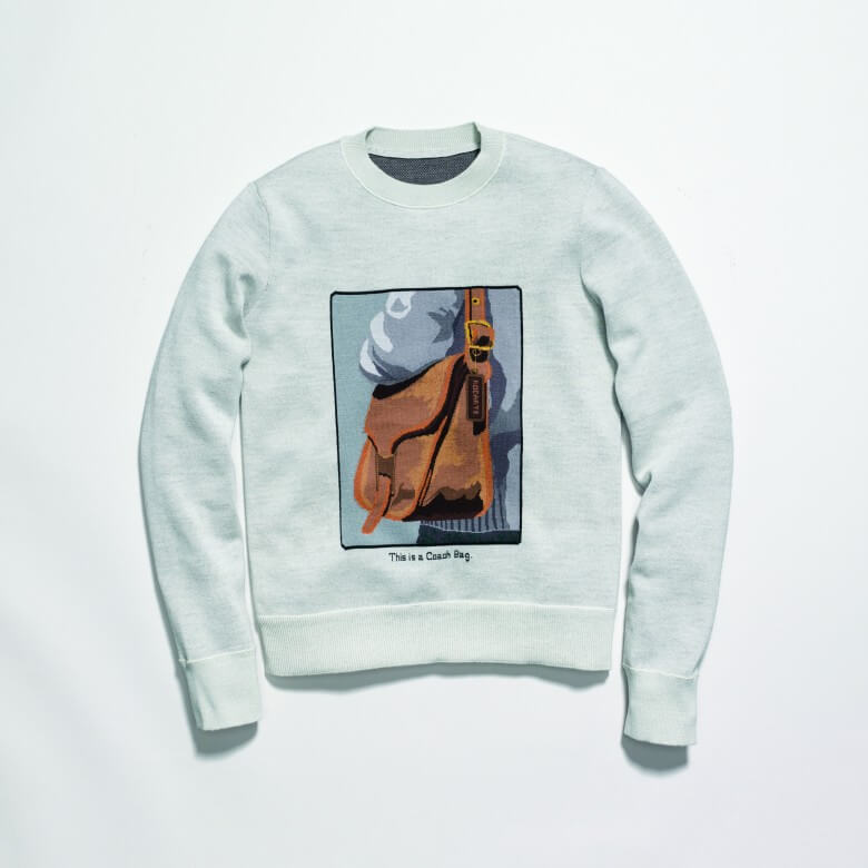 Coach & Rodarte Crewneck with Archive Intarsia £475