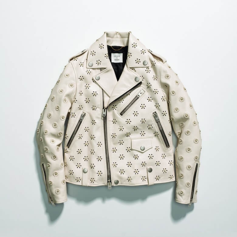 Coach & Rodarte Moto Jacket with Whipstitch Eyelets £2,300
