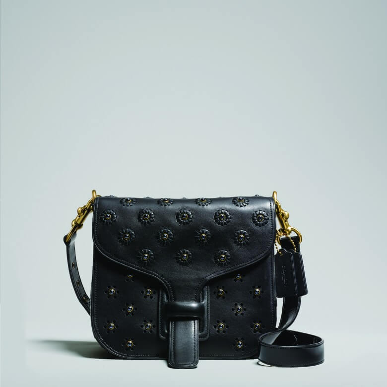 Coach & Rodarte Whipstitch Eyelet Crocodile Courier Bag £1,600