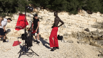 10 Men Cover Shoot Greece