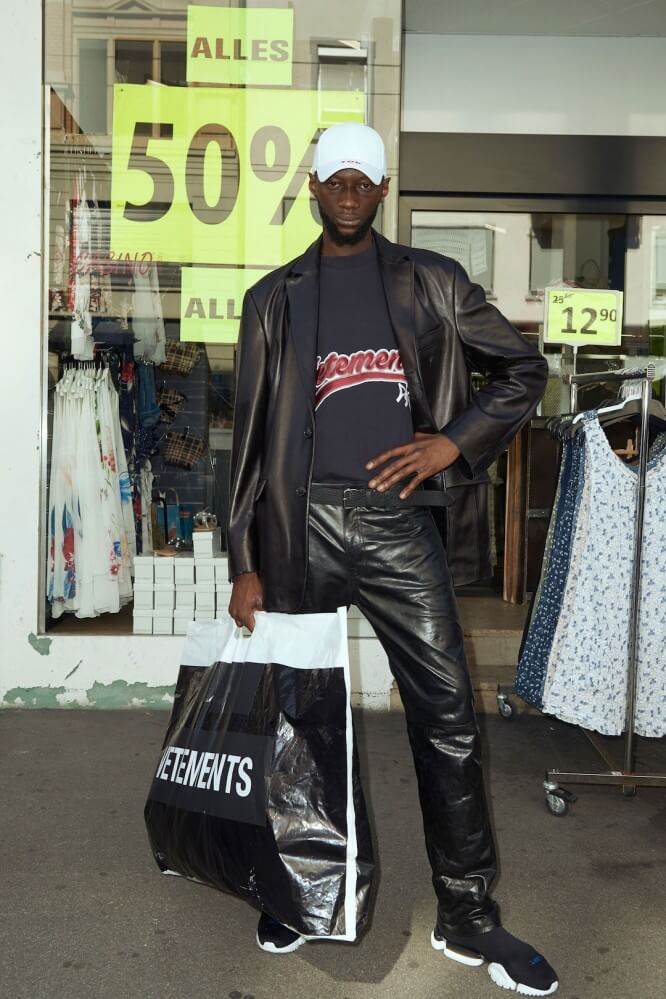 Demna Shoots His Ss18 Vetements Collection On Street Cast Zurich
