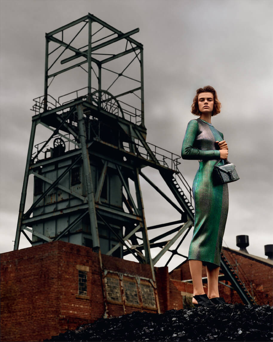 Christopher Kane's New Campaign Is A Homage To Factory Women