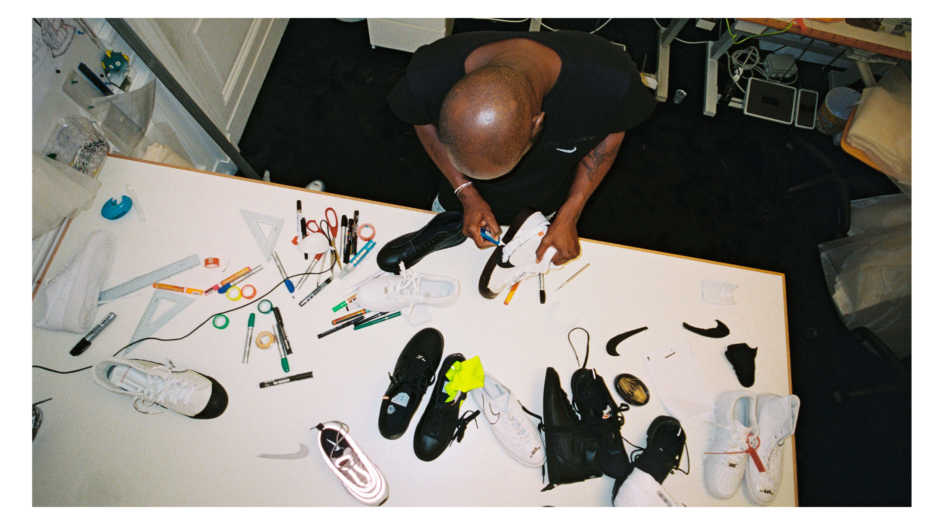Virgil Abloh Off White NikeLab