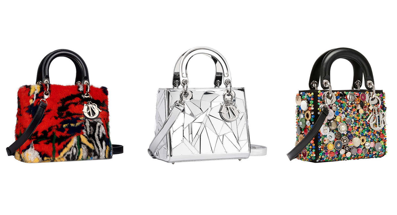 a7d774d5df Imagine taking Dior's Lady Bag as your canvas and re-imagining it in your  own artistic image. Quite the task, non? It's only, like, one of the most  iconic ...