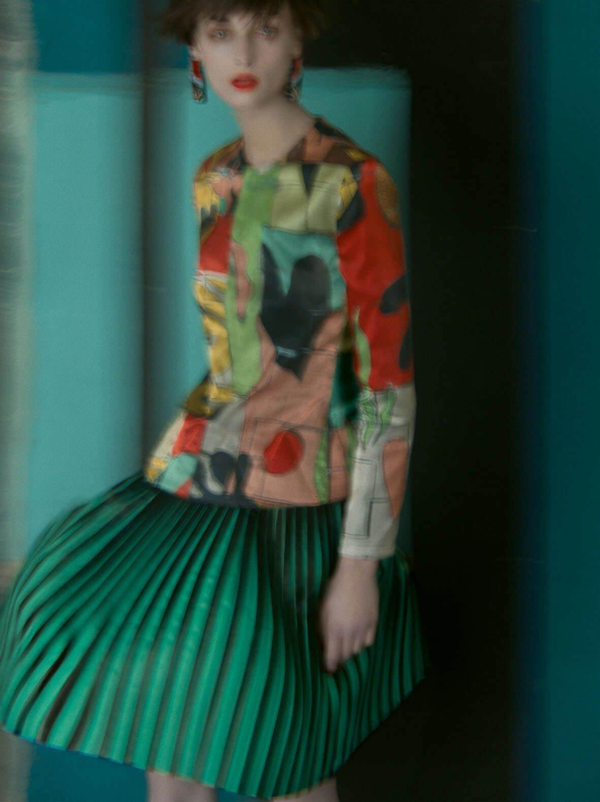 Giorgio Armani advertising campaign Spring Summer 2018 - credit Sarah Moon (5)