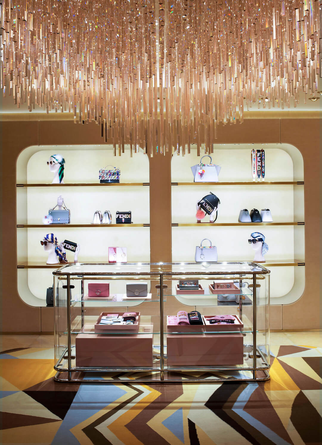 03_FENDI Sloane Street boutique_Ground floor accessories