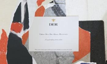 DIOR_AUTUMN-WINTER 2018-2019_INVITATION_HORIZONTAL