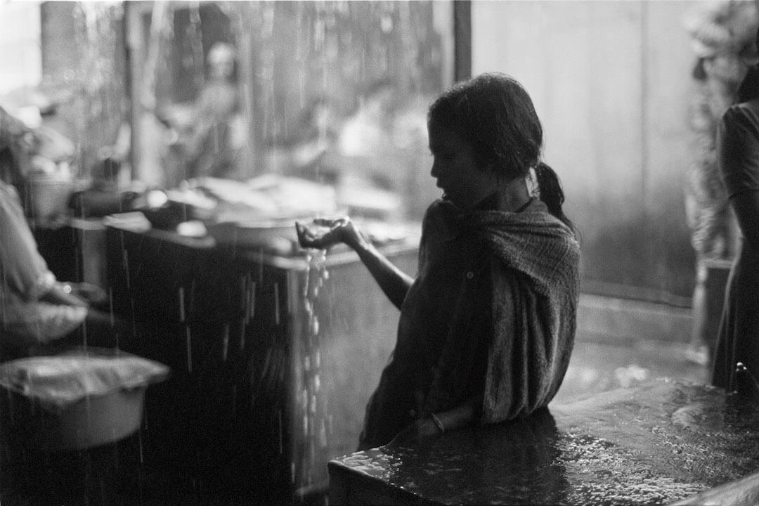 Rain in Denpasar, 1977, Courtesy the artist and BlainSouthern, © Wim Wenders