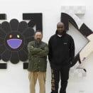 Takashi Murakami and Virgil Abloh - photo credit. Koichiro Matsui
