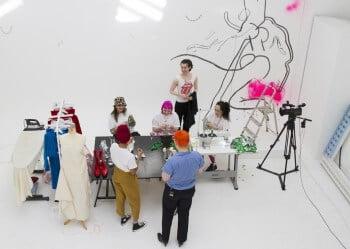 Credit SHOWstudio - Art School Lie Studio