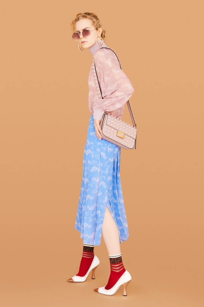 FENDI Resort 2019_Look 14