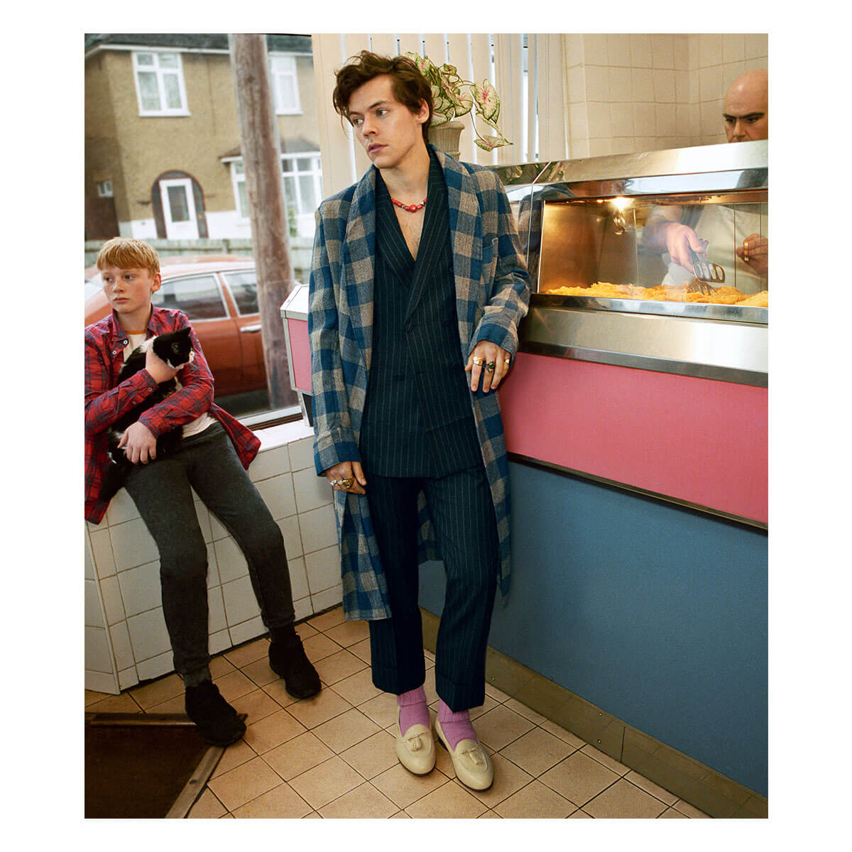 c0de05fbf Harry Styles Is The Face of Gucci's Tailoring Campaign - 10 ...