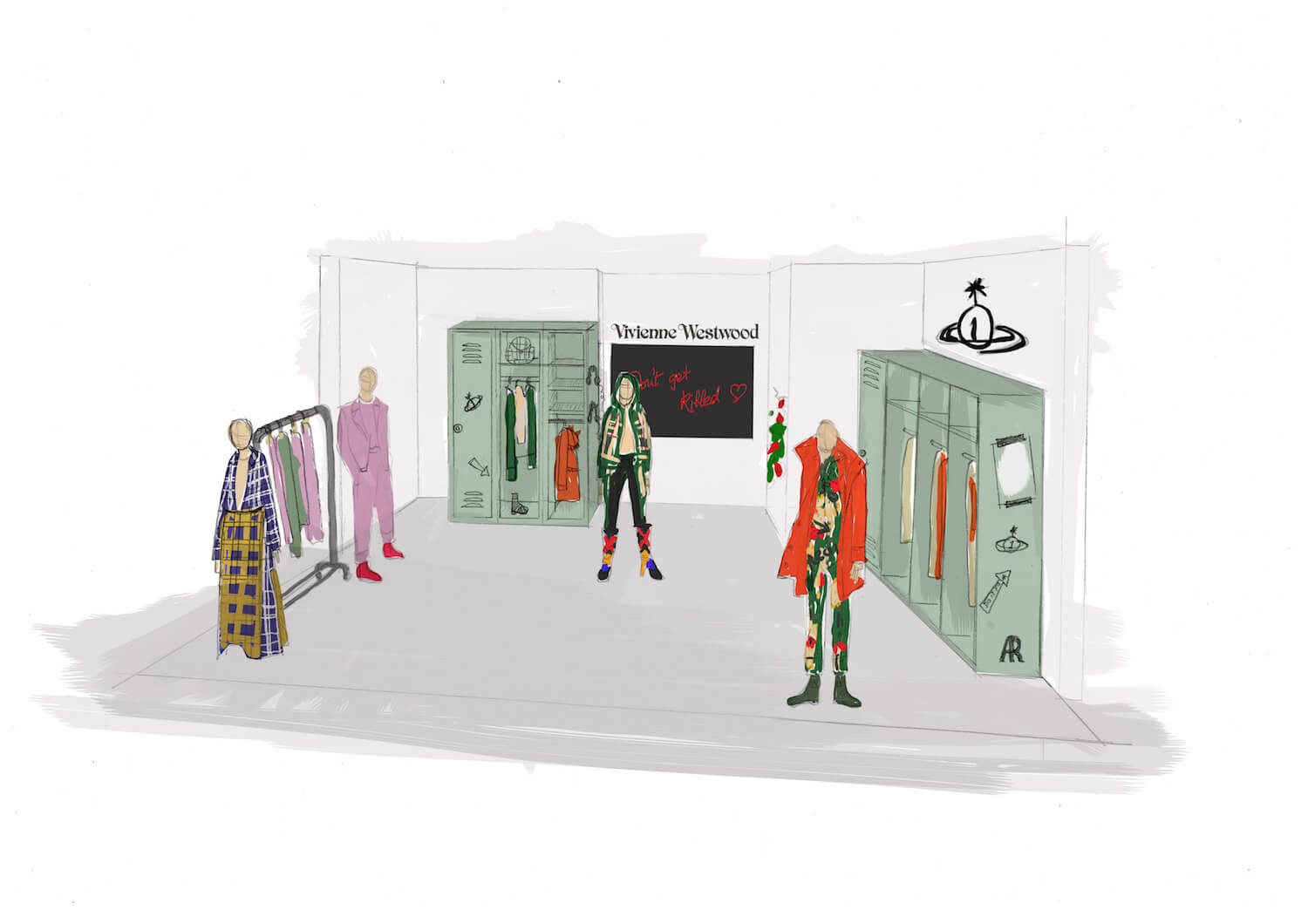 selfridges sketch visual
