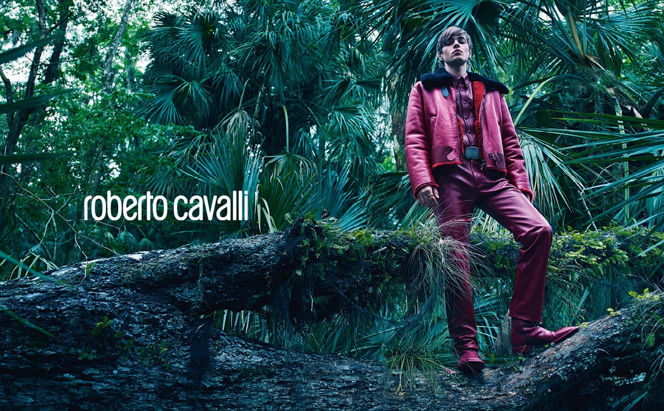 RobertoCavalli _ ADV FW18-19_ double page man_look 28