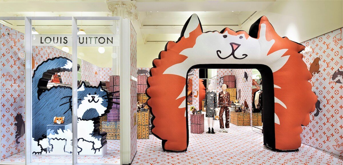 Louis Vuitton X Grace Coddington Selfridges Pop-Up Image (1)