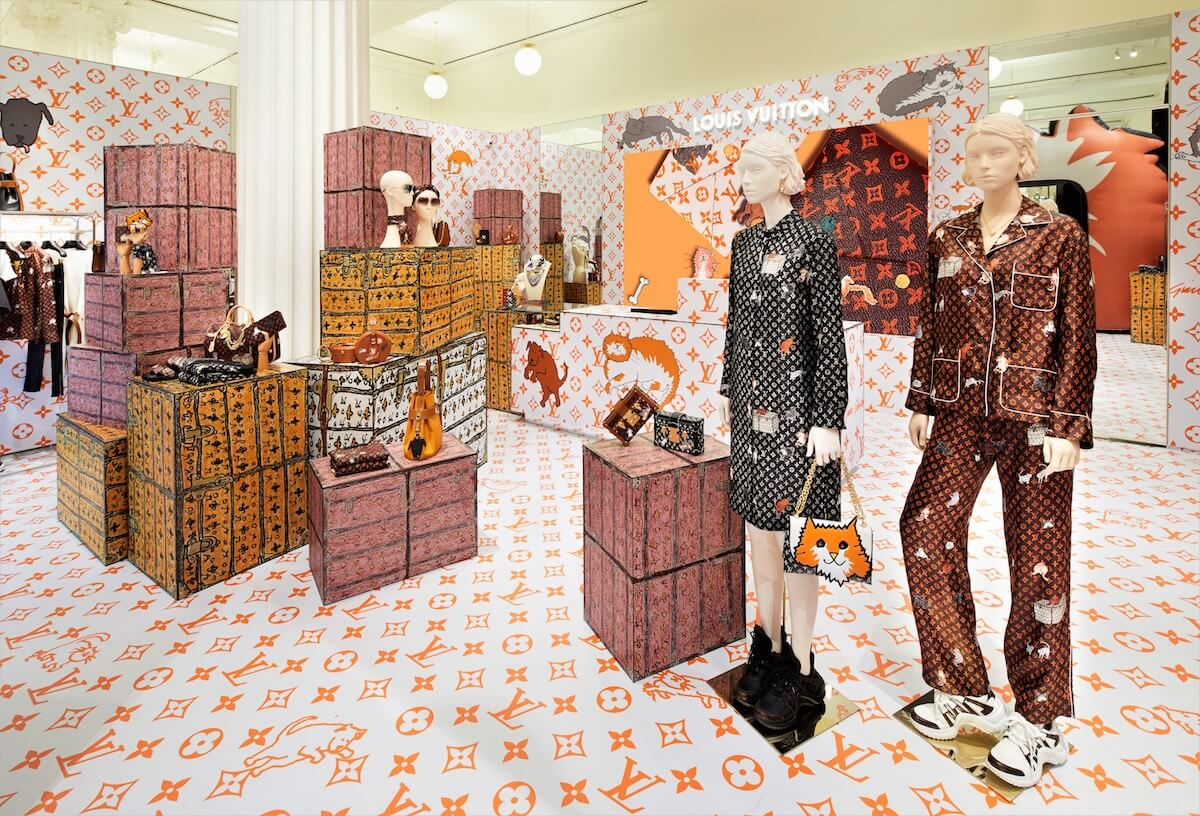 Louis Vuitton X Grace Coddington Selfridges Pop-Up Image (3)
