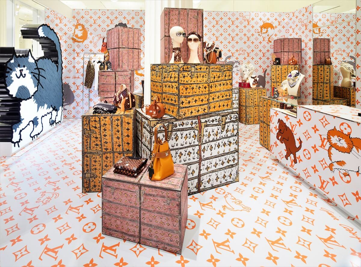 Louis Vuitton X Grace Coddington Selfridges Pop-Up Image (4)