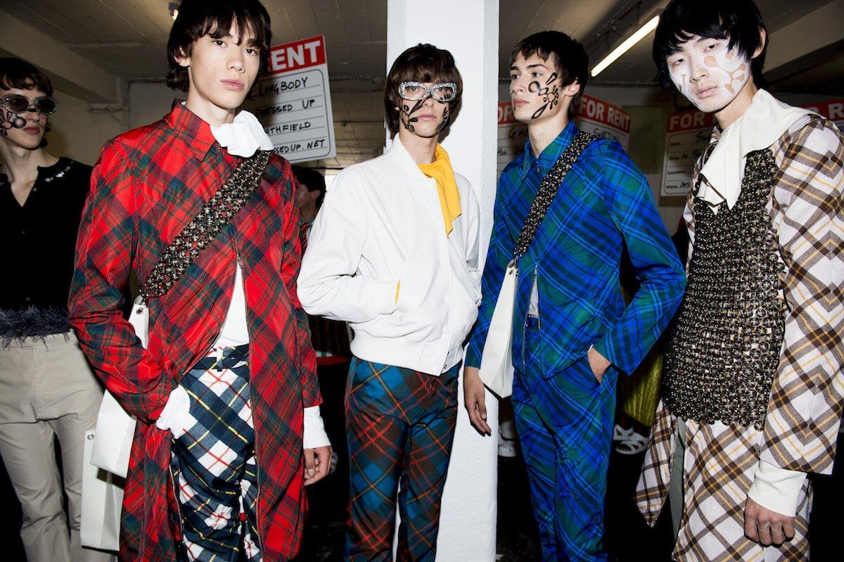 London Fashion Week Men S Heads To East London 10 Magazine10 Magazine