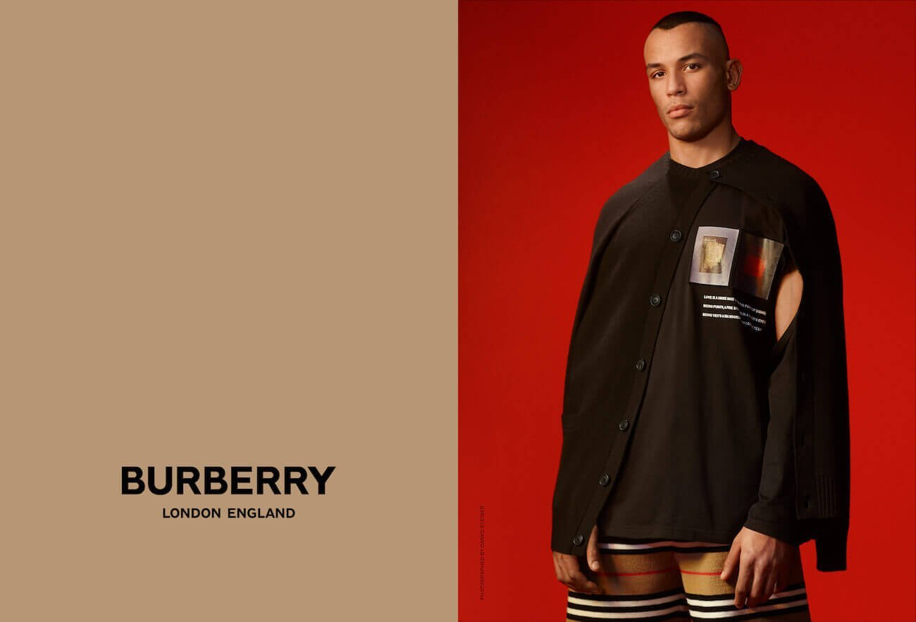 Darani photographed by Danko Steiner for Burberry c Courtesy of Burberry _ Danko Steiner