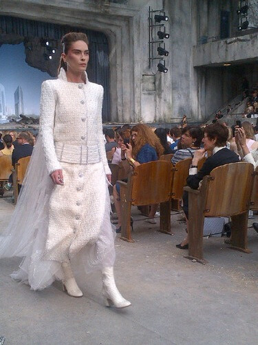 Chanel Paris Couture A W 13 Erin Wasson As The 10 Magazine