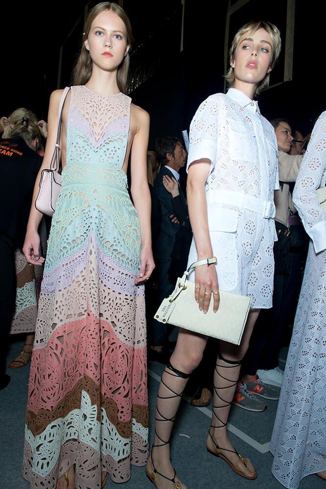 Valentino Paris Fashion Week S S 2015 Backstage Girls 10 Magazine10 Magazine