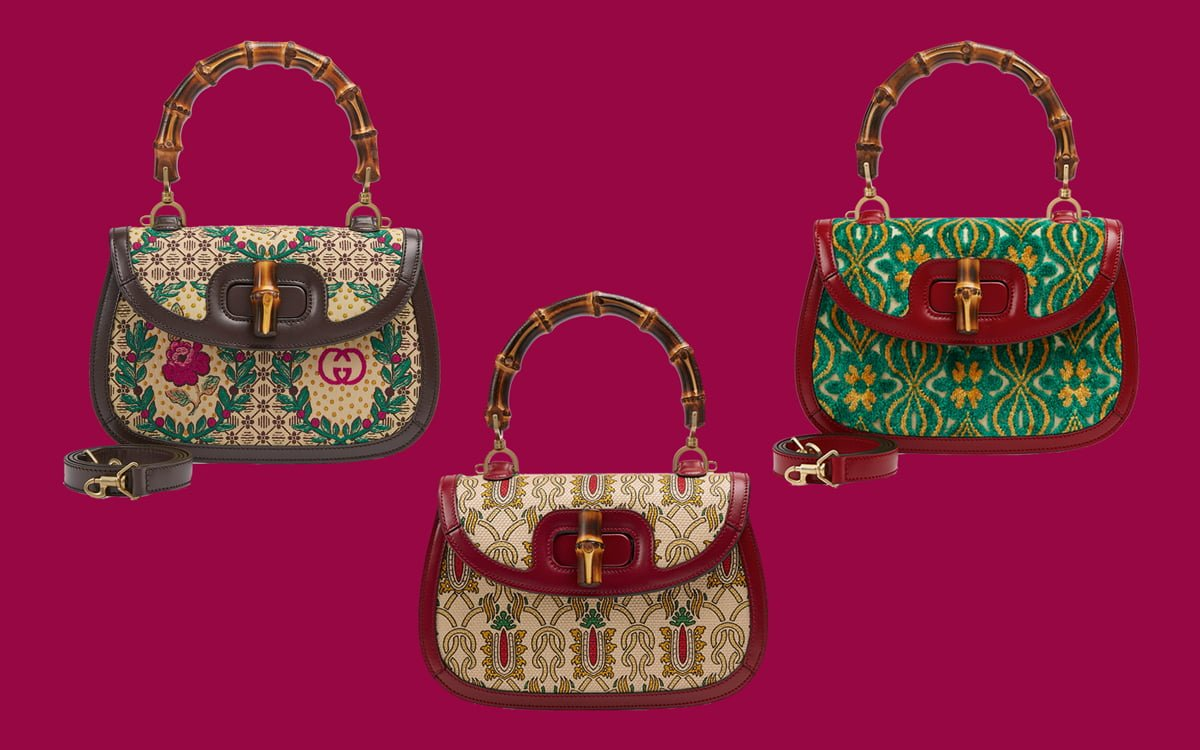 c077668ae ... Gucci Garden Bamboo Bag. Don't you hate when you spend a lot of money  on a really great bag, wear it out for the first time and then see another  two ...