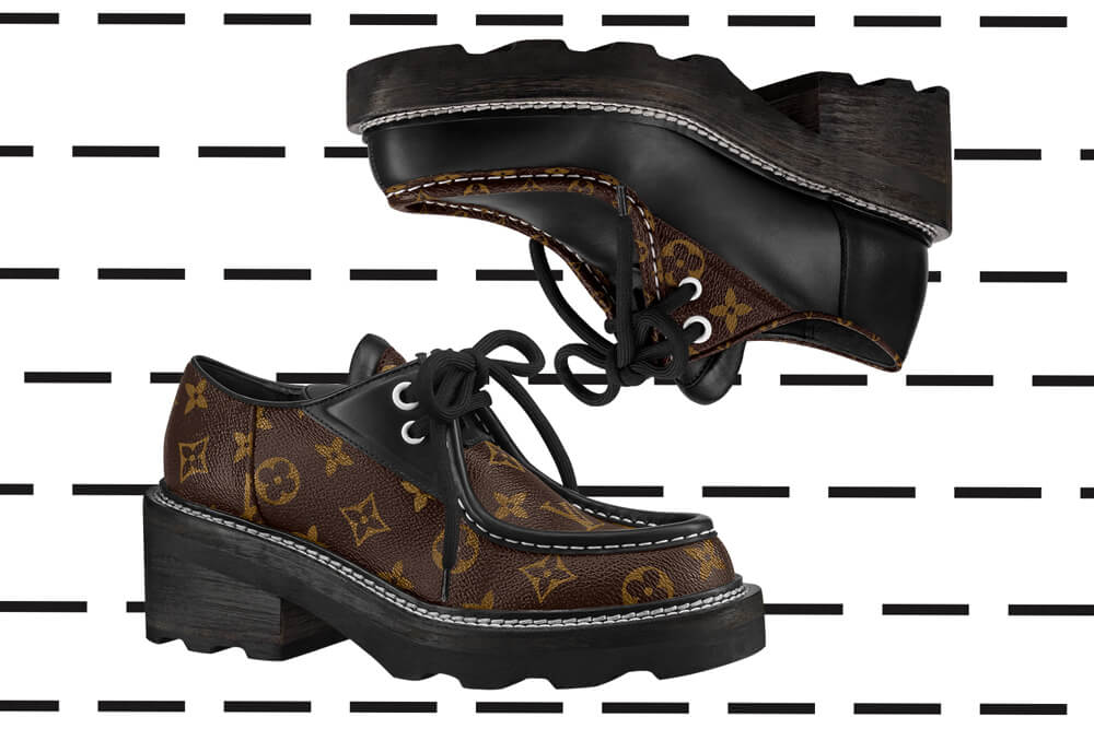 10586c49 Ten Loves: Louis Vuitton Beaubourg Platform Derby Shoes - 10 ...