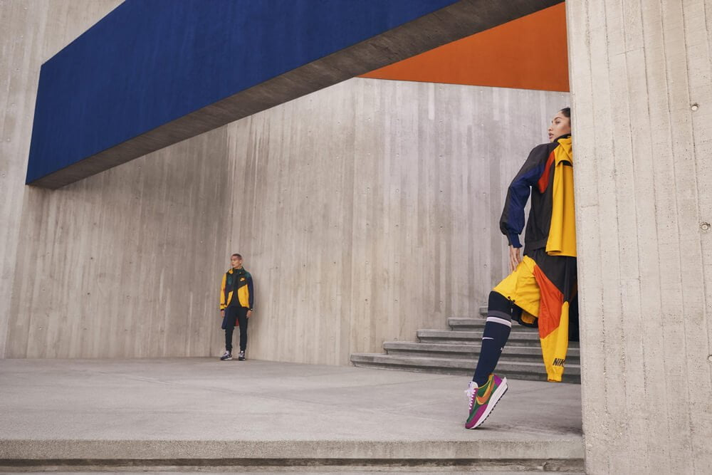 Sacai's New Collection of Nike Apparel Is Dropping (very