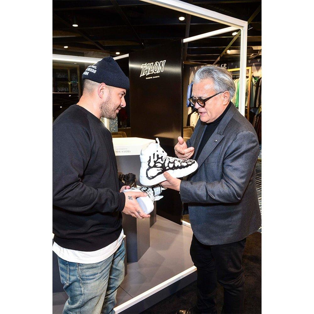 Ten Meets Giuseppe Zanotti at the