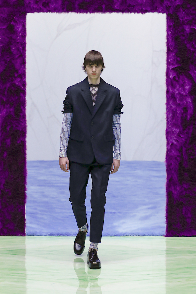 Prada: Menswear AW21