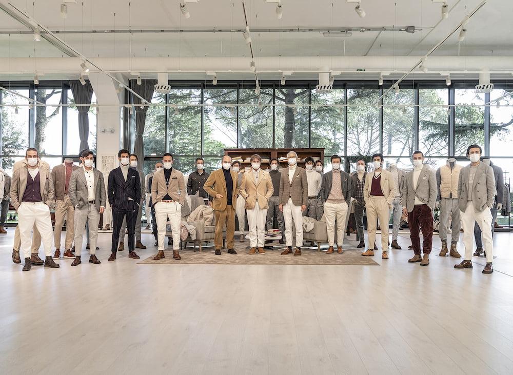 Brunello Cucinelli: Menswear AW21