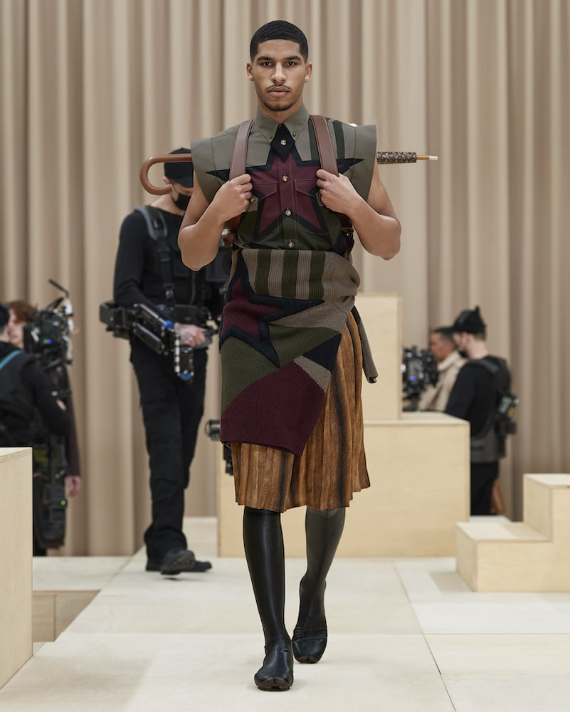 Burberry: Menswear AW21