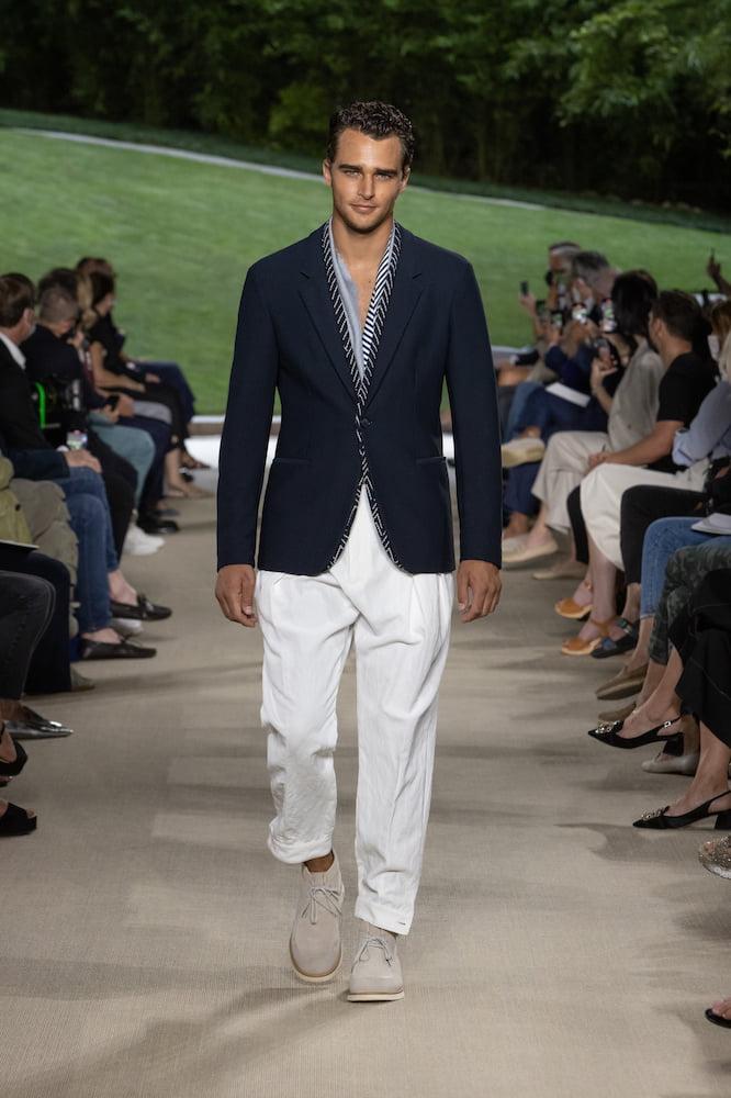 Giorgio Armani: Menswear SS22
