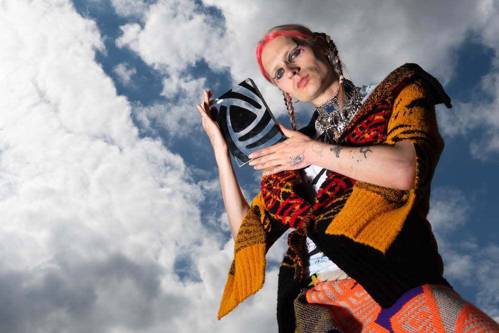 Matty Bovan Wins Big at This Year's Woolmark Prize