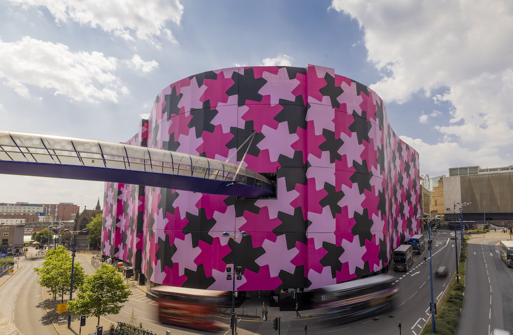 Ten's to See: 'Infinity Pattern 1' by Osman Yousefzada at Selfridges Birmingham