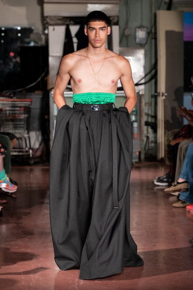 Willy Chavarria: Menswear SS22